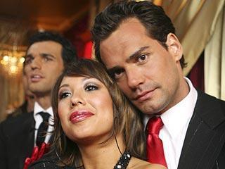 Cristian de la Fuente with Cheryl Burke