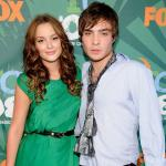 Leighton Meeter and Ed Westwick