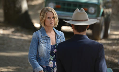 Ava on Season 6 - Justified
