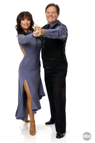 Tom DeLay and Cheryl Burke