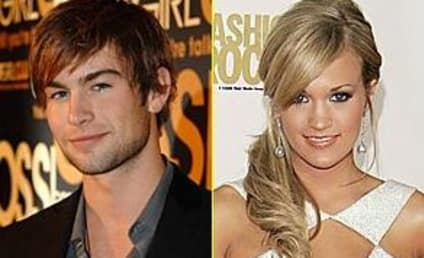 Chace Crawford, Family Love Carrie Underwood