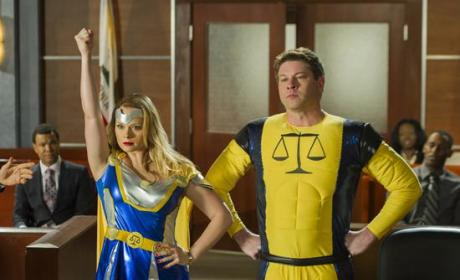 Drop Dead Diva Review: Safety First