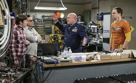 The Air Force Comes Calling - The Big Bang Theory