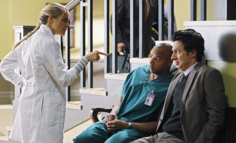 Denise Yells at J.D. and Turk