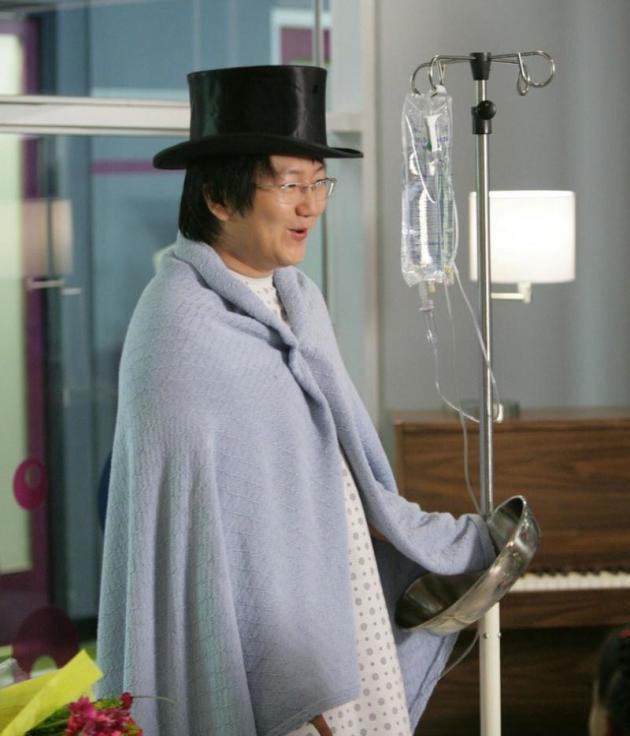 Hospitalized Hiro