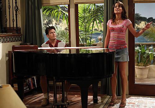 Charlie Helps Mia Sing