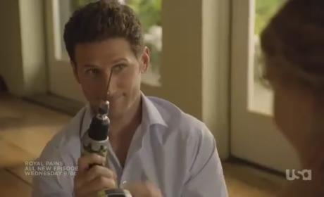 Royal Pains Episode Trailer: A Dangerous Product
