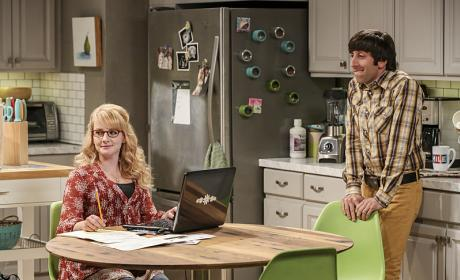 Howard is Stressed - The Big Bang Theory Season 10 Episode 6