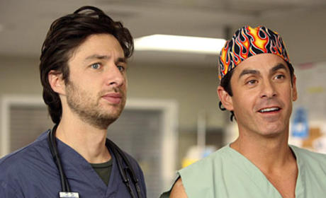 Cougar Town to Stage Scrubs Reunion