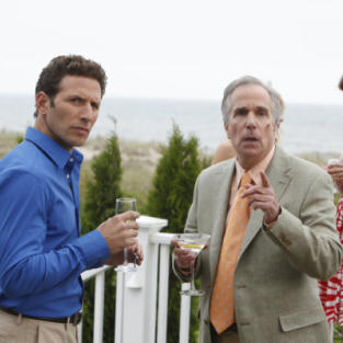 Henry Winkler on Royal Pains