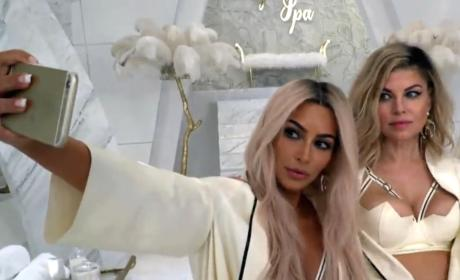 Music Video Selfie - Keeping Up with the Kardashians