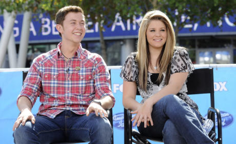 Scotty McCreery and Lauren Alaina Photo Op