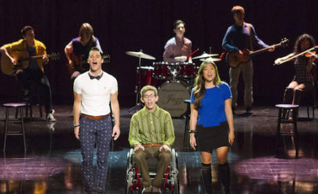 Glee Spring Premiere: First Look Photos!