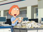 Surprised Lois - Family Guy Season 14 Episode 17