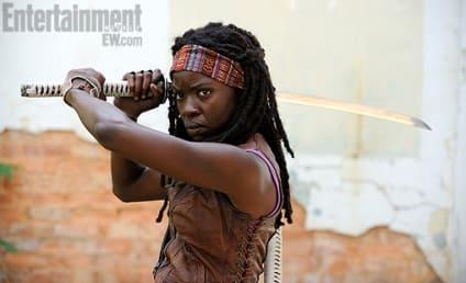 The Walking Dead First Look: Danai Gurira as Michonne