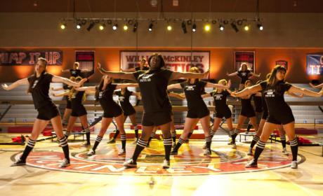 Dancing in Gym