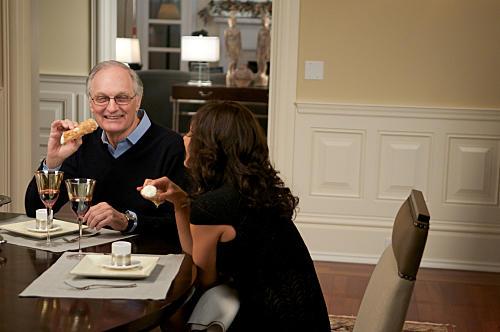 Dr. Sherman at Dinner
