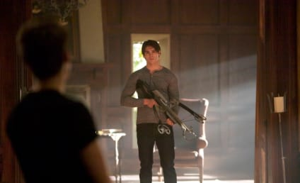 The Vampire Diaries Pics and Preview: Locked & Loaded