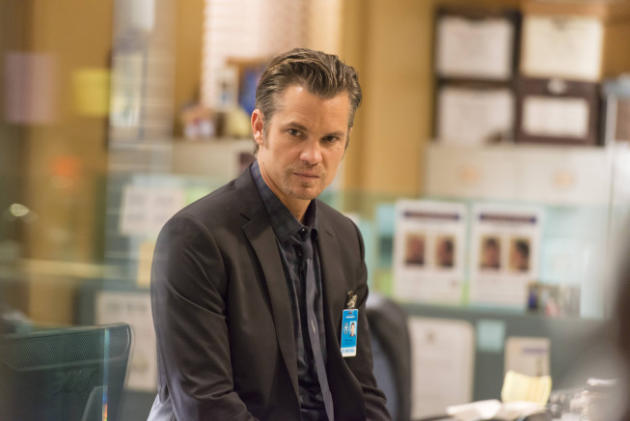 Raylan in the Office