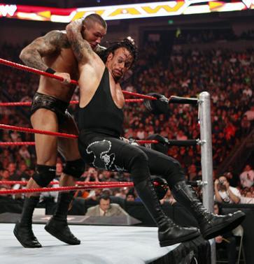 Undertaker vs. Orton
