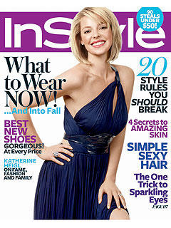 Katherine Heigl: In Style Cover