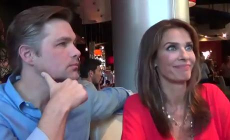 Days of Our Lives Scoop: Daniel Cosgrove & Kristian Alfonso Talk Haiden Sexy Time