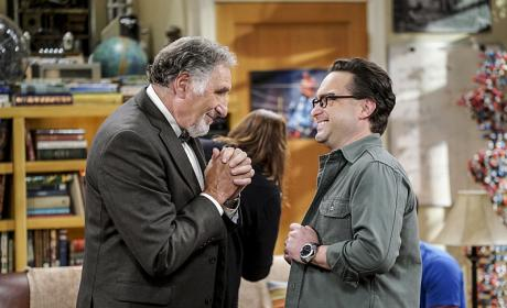Some Father and Son Bonding Time - The Big Bang Theory Season 10 Episode 1