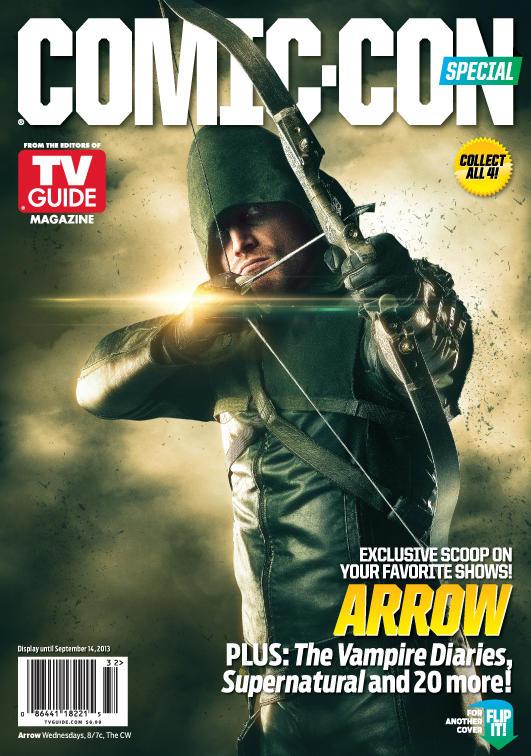 Arrow Comic-Con Cover