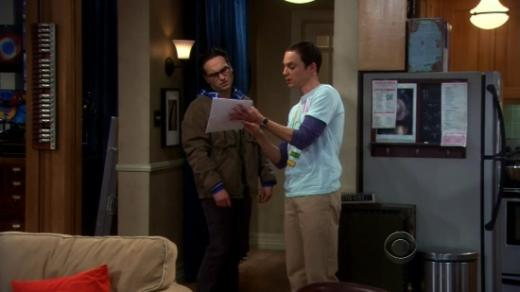 Sheldon and Leonard Discuss the Rules
