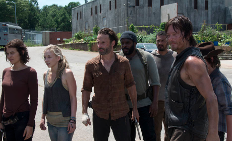 The Walking Dead Midseason Report Card: B+
