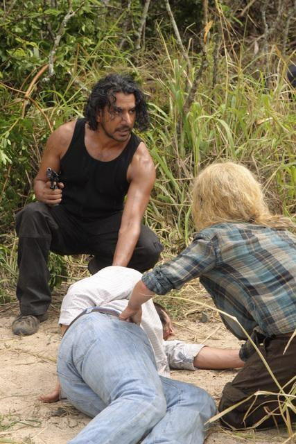 Sayid in Action