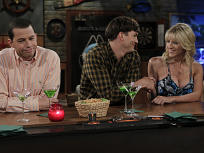 Brit Morgan on Two and a Half Men