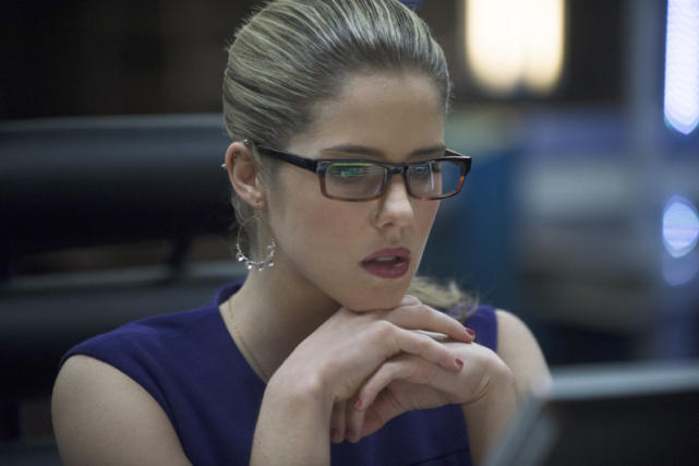 Emily Bett Rickards is Felicity Smoak