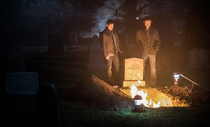 Supernatural Photo Preview: Winchester Family Road Trip!