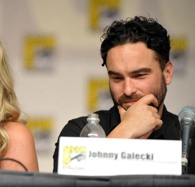 Johnny Galecki at Comic-Con