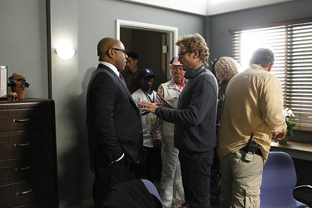 Behind the Scenes With Simon Baker