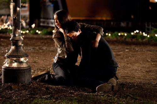 Elena and Damon Photo