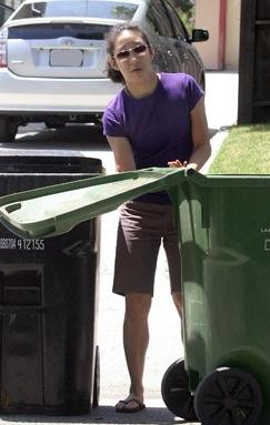 Sandra Recycles. You Should, Too!