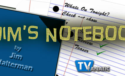 Jim's Notebook: Open to The Walking Dead, Suburgatory and More!