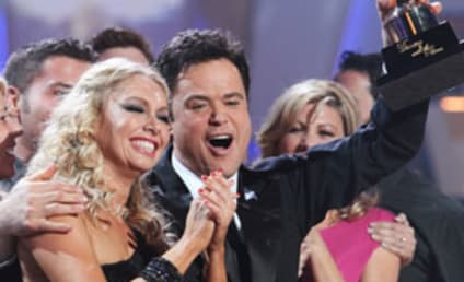Donny Osmond Named Dancing with the Stars Winner