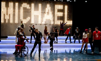 Glee Does MJ: Video, Photo Preview