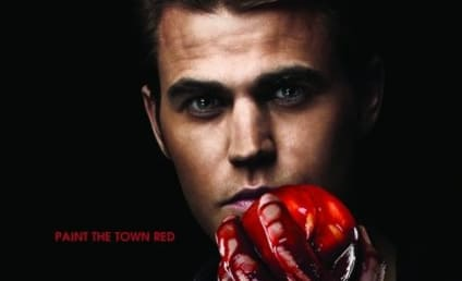 New Vampire Diaries Poster: Paint the Town Red