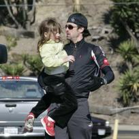 Patrick Dempsey, Daughter Go For a Ride 1