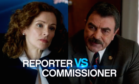 Reporter vs. Commissioner - Blue Bloods Season 5 Episode 19