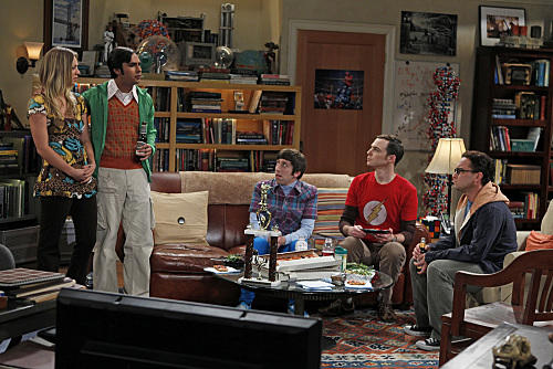 Big Bang Theory Premiere Scene