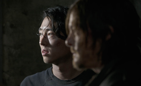 Glenn and Daryl