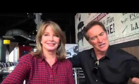 Deidre Hall and Drake Hogestyn Interview, Part 1