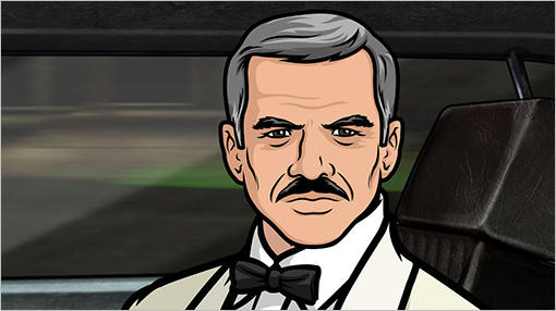 Burt Reynolds on Archer