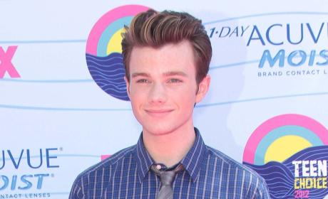 A Chris Colfer Photo