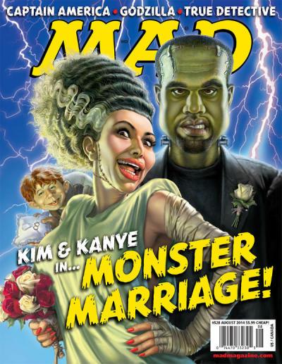 Mad Magazine Spoofs Kim & Kanye